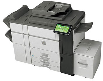 Sharp MX-7040N Color Networked Networked MFP 70 ppm high speed color document system at discounted prices.