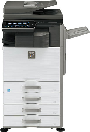 Sharp MX-3140N Color MFP 31 ppm full color workgroup document systemat discounted prices.
