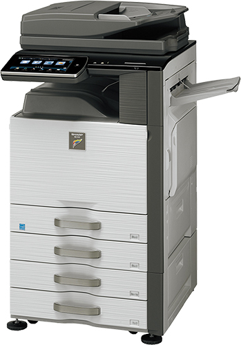 Sharp MX-4140N Color MFP 41 ppm full color workgroup document system at discounted prices.