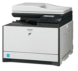 Sharp MX-C250 Digital MFP 25ppm color desktop document system at wholesale prices. Volume discounts available.