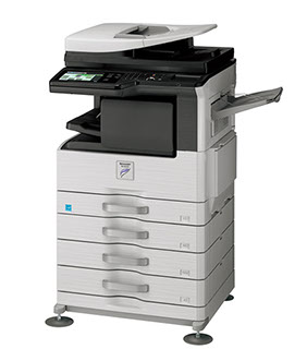 Sharp MX-M264N Networked Digital MFP 26ppm document system at discounted prices.