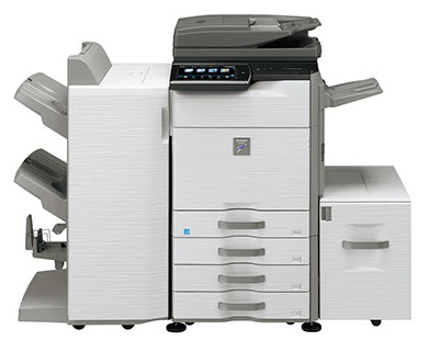 Sharp MX-M365N Digital MFP workgroup document system at discounted prices.