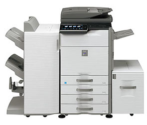 Sharp MX-M465N Digital MFP 46 ppm black and white workgroup document system