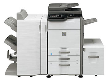 Sharp MX-M564N Digital MFP 56 ppm Black and White Workgroup document system at discounted prices.