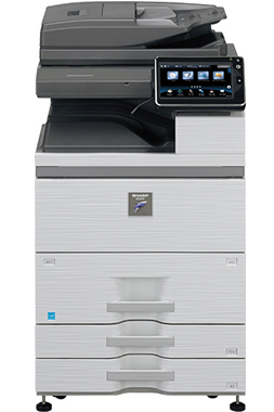 Sharp MX-M754N Networked Digital MFP 75ppm workgroup document system at discounted prices.