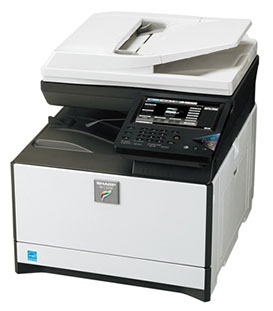 Sharp MX-C301W Digital MFP 30ppm color desktop document system at wholesale prices. Volume discounts available.
