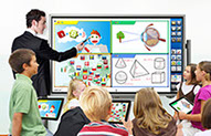 Smart Board Interactive Touch Displays from Sharp at discounted prices.  Great for classrooms.