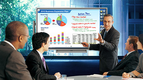 "Sharp Aquos Board 60"" PN-L602B Interactive Touch Display"