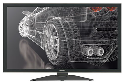 "Sharp PN-K321 32"" Ultra-HD Professional Monitor at discounted prices."