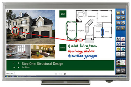 "Sharp Aquos Board 80"" PN-L802B Interactive Touch Display"